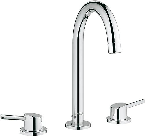 Concetto L-Size 2-Handle 3-Hole Bathroom Faucet – 1.2 GPM