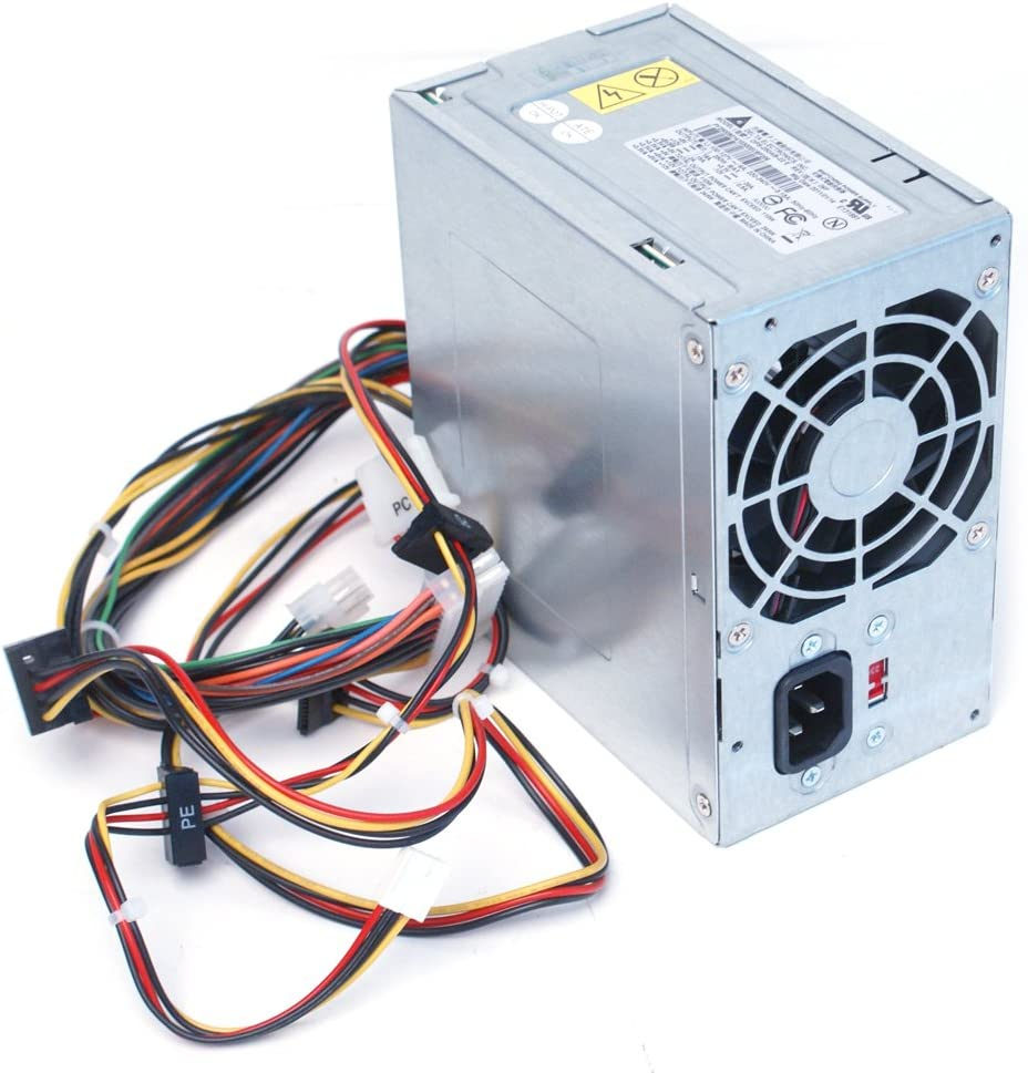 Genuine Delta 250W Power Supply Unit PSU Power Brick Replaces Dell Part Numbers R850G, XW600, XW601, YX445, 6R89K, XW599, D382H, H057N, CD4GP, XW596, 9V75C, C411H, DVWX8, FFR0Y, GH5P9, H056N, HT996, J036N, K932C, N183N, N184N, N189N, N383F, N385F, P981D, PKRP9, R215C, R851G, RJDR3, XW597, XW598, Y359G, YX309, YX446, YX448, YX452, F77N6, R850G, R851G, YX309, DG1R8, V7K62 Replaces Dell Model Numbers: DPS-300AB-24 G, DPS-300AB-24 B, HP-P3017F3, D300R002L, HP-P3017F3 LF, PS-5301-08, DPS-300AB-47, PS-6301-6, HP-P3017F3 3LF, DPS-300AB-36 B, ATX0300D5WB Rev X3, HP-P3017F3P, DPS-300A B-26 A, 04G185015510DE, PC6037, PS-6301-6, DOS-300AB-36B, PS6301-02, PA-5301-08, DPS-200AB-26, 04G185015610DE, DPS-300AB-24B, DOS-300AB-36B, PC6037, D300R002L, DPS-530XB-1A, DPS-530VB-1A, PS-6351-2, ATX0350P5WA, DPS-350XB-2 A, DPS-350VB C, CPB09-001B, ATX0350D5WA, ATX0350D5WC