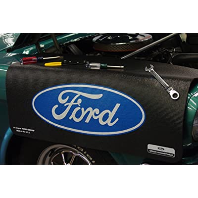 Fender Gripper FG2101 Mat (Ford Blue Oval): Automotive