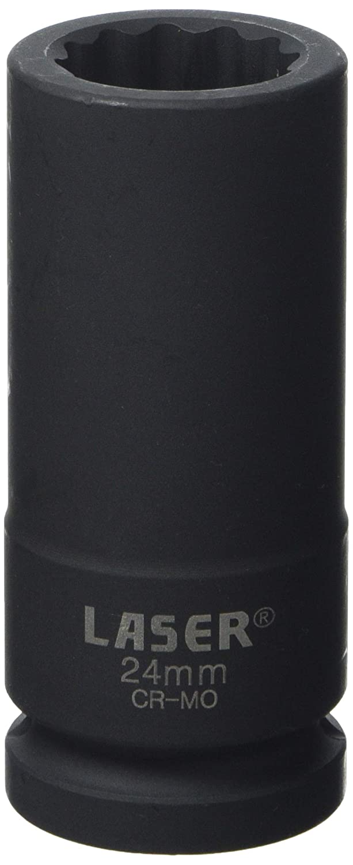Laser 7016 Tools-Bi Hex Socket 24mm 3/4' D-7016 The Tool Connection