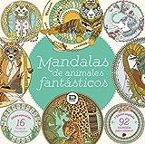 Mandalas de animales fantásticos. Libro para colorear y relajarse.