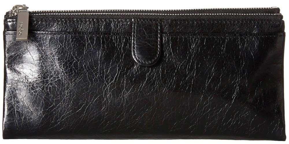 Hobo Women's Taylor Black Vintage Leather Cell Phone Wallet