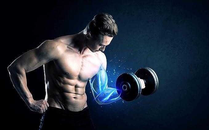 PZ® SPORTS - Barra gruesa de agarre grueso - 5 cm de grosor, adaptador de barra para mancuernas para crecimiento muscular de brazo - levantamiento de pesas, ...