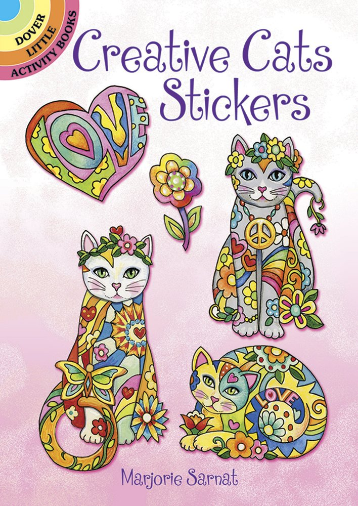 Creative Cats Stickers (Dover Little Activity Books)