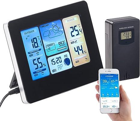 Infactory – WiFi Termómetro: WiFi de estación meteorológica ...