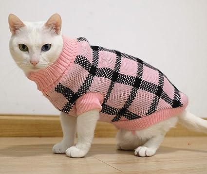 Classic Blue Acrylic Argyle Sweater for Dogs 5 Sizes Costume Dog Clothing