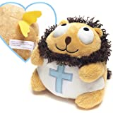 Lion Angel with Bible Verse Christian Stuffed Toy Stocking Stuffer - Ethan the Lion