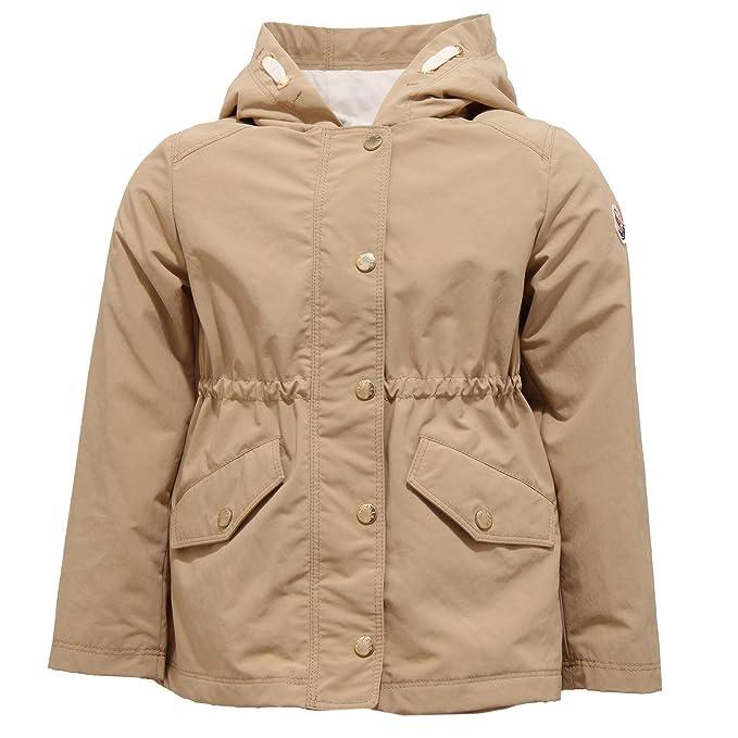 MONCLER 8702T Giacca Girl Bimba Fleurette Windstopper Beige Jacket [12/18 Months]: Amazon.es: Ropa y accesorios