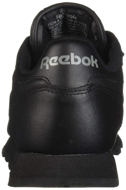 221503b28fe3a6 Reebok Men s Classic Leather Fashion Sneaker Black  Amazon.ca  Shoes    Handbags