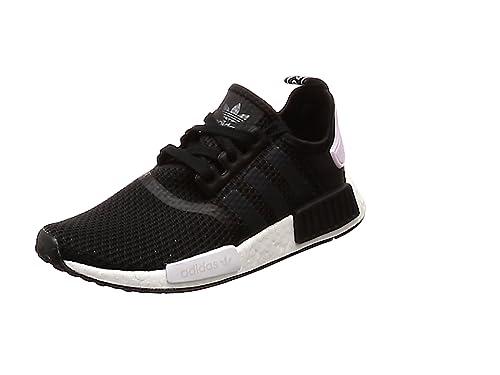 adidas NMD_R1 W, Zapatillas para Mujer, Negro (Core Black/Footwear White/