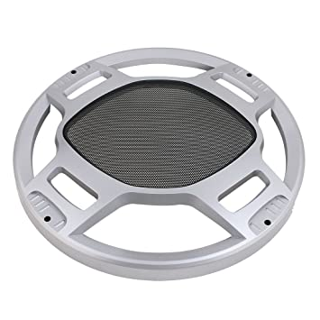 Speaker Case Cover Subwoofer Mesh Grille Protection Decorative Circle 6inch