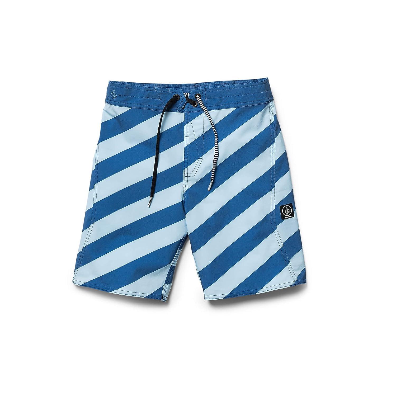 Volcom Little Boys Stripey Elastic 16 Striped Boardshort Youth