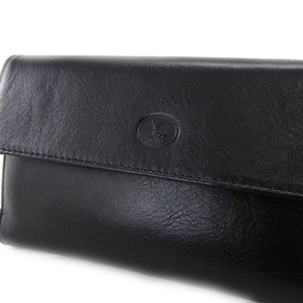 Wallet + checkbook holder leather 'Frandi' ecological york black. by Frandi (Image #3)