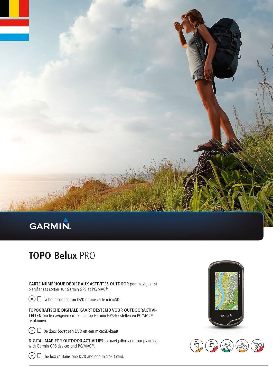 Garmin Karte Topo Belux Pro 010 12012 00 Amazon De Sport Freizeit