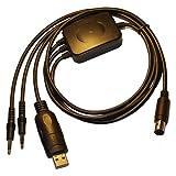 Yaesu Câble de données pour émetteur-récepteur Connecteur mini-DIN 6 broches jack