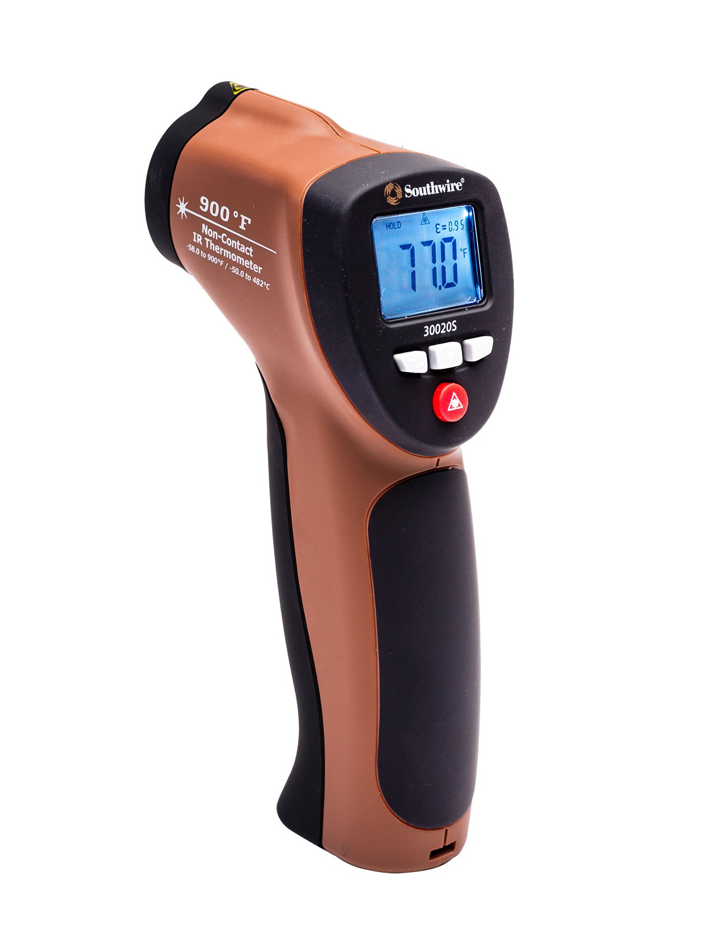 Southwire Tools & Equipment 30020S 900°F Non-Contact Digital Infrared Thermometer