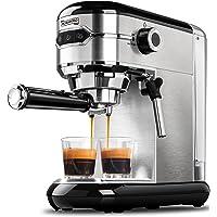 MICHELANGELO Espresso Machine, Stainless Steel Espresso Maker, Expresso Coffee Machine with Milk Frother, Small Coffee…