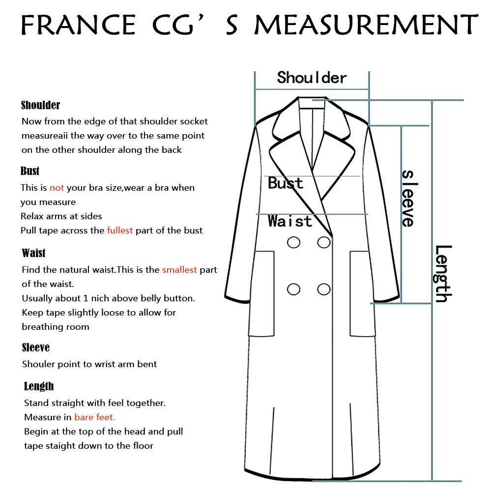 CG Women's Wool-Blend Single Breasted Pea Coat Classic A-Line with Belt 890G056 (Sky Blue, M) by CG Chris Gelinas (Image #4)