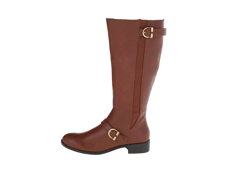 LifeStride Women's Selena Wide Shaft Cedar Kraft Ws Shoe: Amazon.ca: Shoes  & Handbags