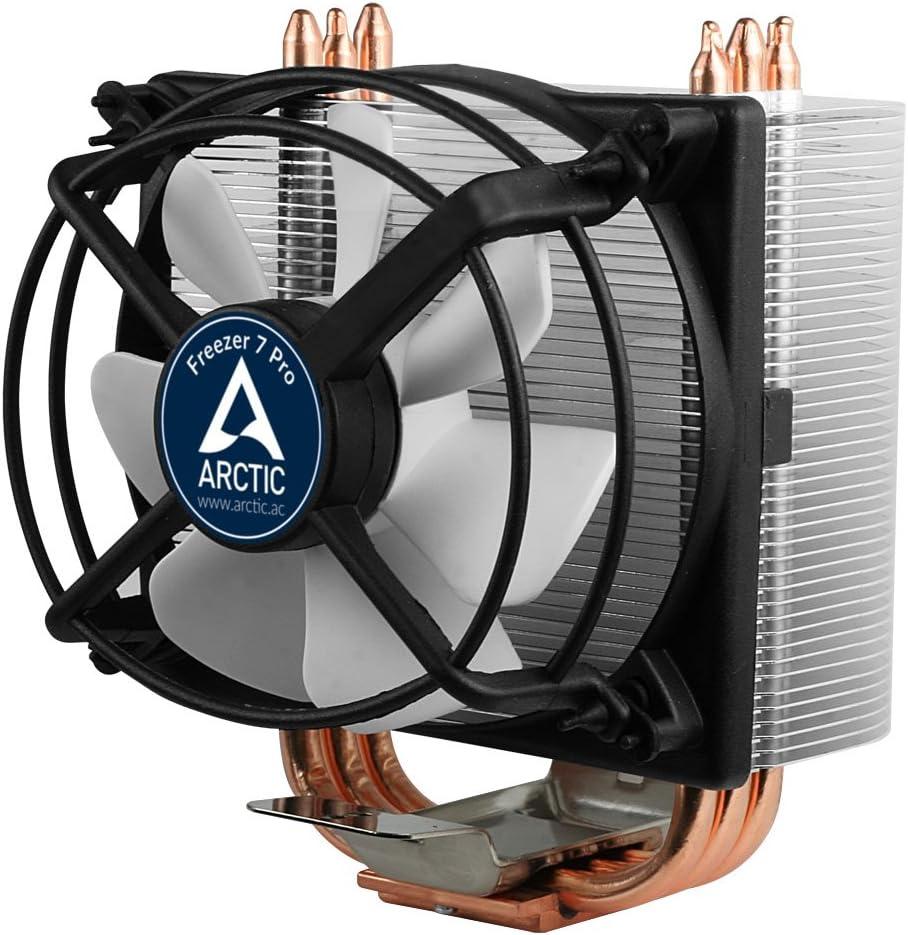 ARCTIC Freezer 7 Pro - Refrigerador CPU multicompatible con Ventilador PMW de 92 mm, Cooler para AMD AM4 e Intel 115x CPU, hasta 150 vatios de Rendimiento térmico
