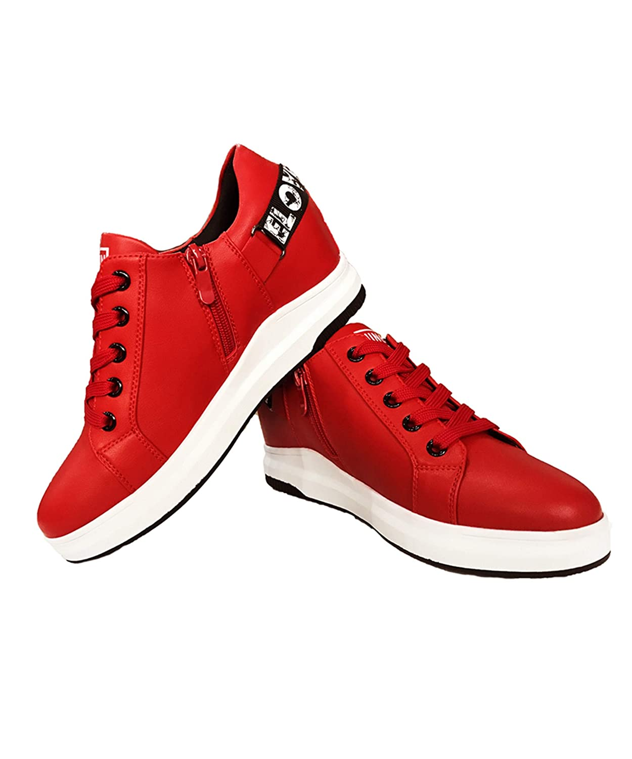 Red Hotroad Women's Wedge shoes Sneakers Low-Top