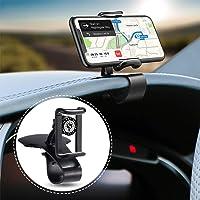 حامل هاتف السيارة اس دي اس يدور 360 درجة حامل الهاتف الخلوي مناسب للهواتف الذكية من 4 إلى 7 انش، حامل يثبت بمشبك على…