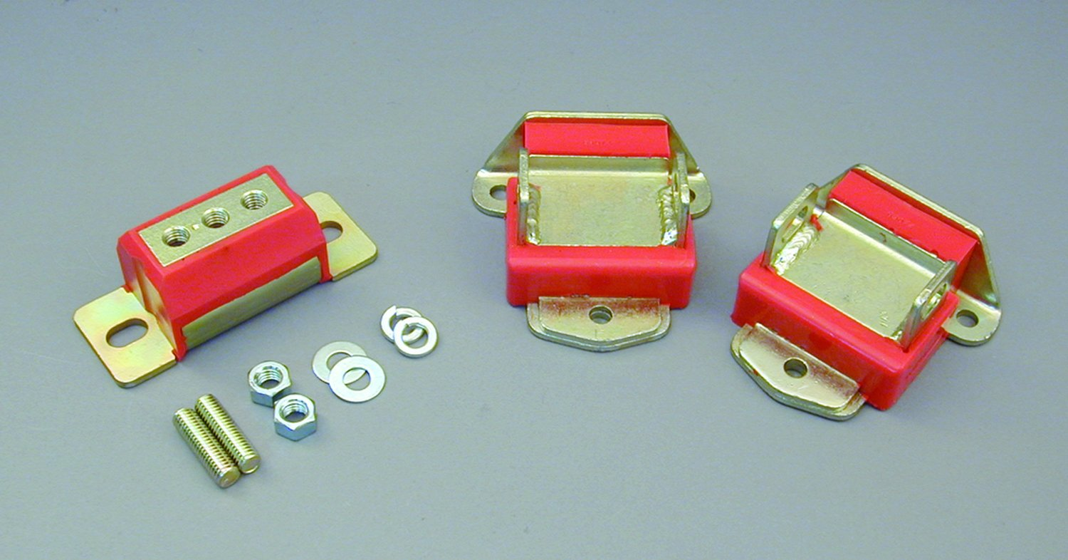 Prothane 7-1901 Red Motor and Transmission Mount Kit by Prothane (Image #1)
