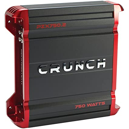 amazon com crunch pzx750 2 powerzone 2 channel class ab amp (750 8 Channel Amp Wiring Diagram at Crunch Amp Wiring Diagram