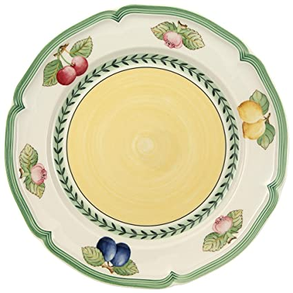 Amazon.com | Villeroy & Boch French Garden Fleurence Dinner Plate ...