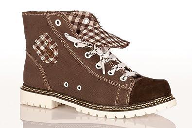 3504e75c8e0651 Trachten Herren Sneaker - JACK - braun ruß d-braun  Amazon.de ...