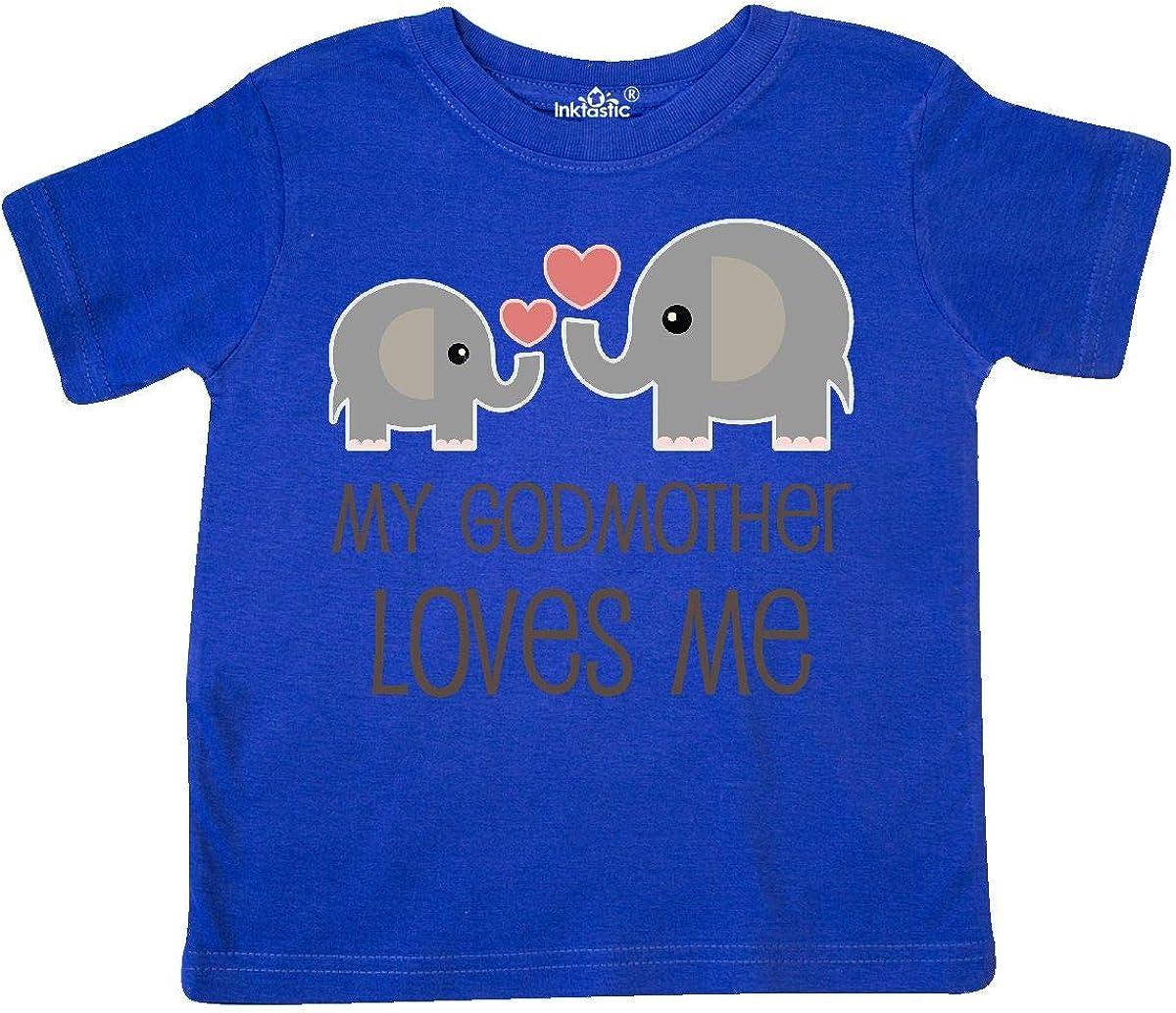 inktastic My Godmother Loves Me Toddler T-Shirt