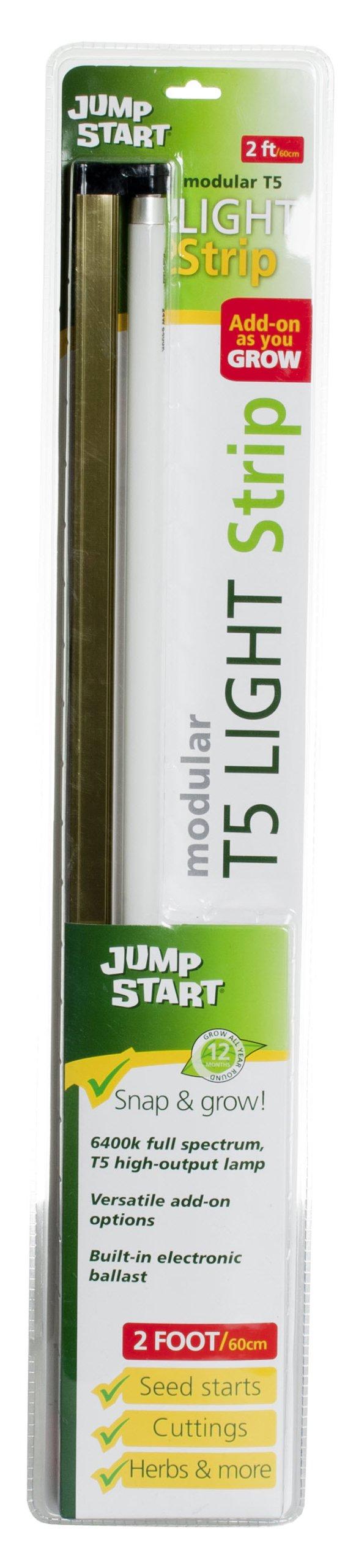 Hydrofarm Jump Start T5 Strip Fixture with Lamp, 2-Feet