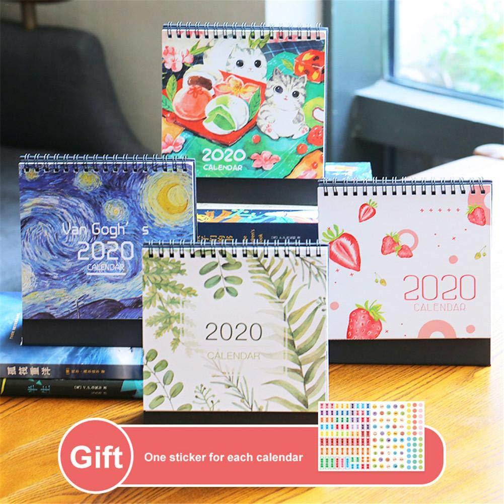 Calendario Planificador 2019 2020 Mr Wonderful Pared Agenda ...