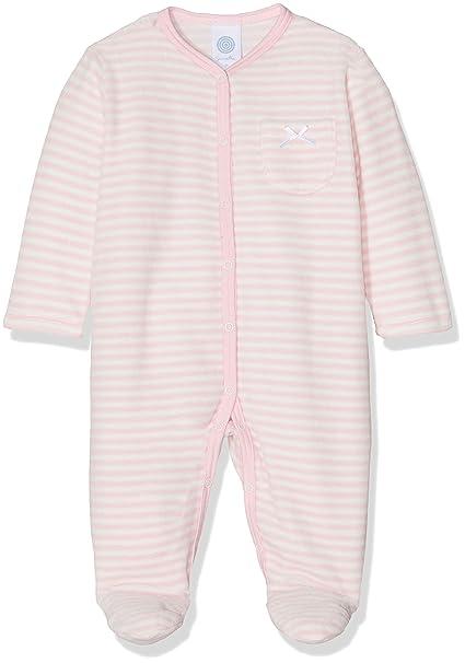 Sanetta Baby-M/ädchen Overall Long Schlafstrampler