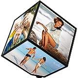 Zep YS51 Décoration de la Maison Cube Photo Pivotant Transparent