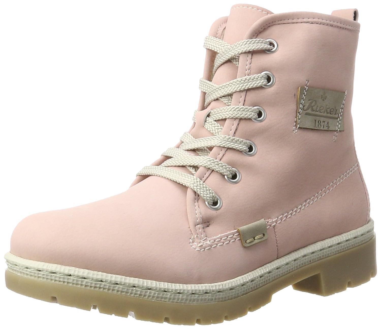 Rieker Damen Y9410 Stiefel Pink (Rosa/Nebel) 2018 Letztes Modell  Mode Schuhe Billig Online-Verkauf