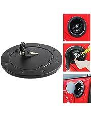 gas tank doors exterior accessories automotive. Black Bedroom Furniture Sets. Home Design Ideas