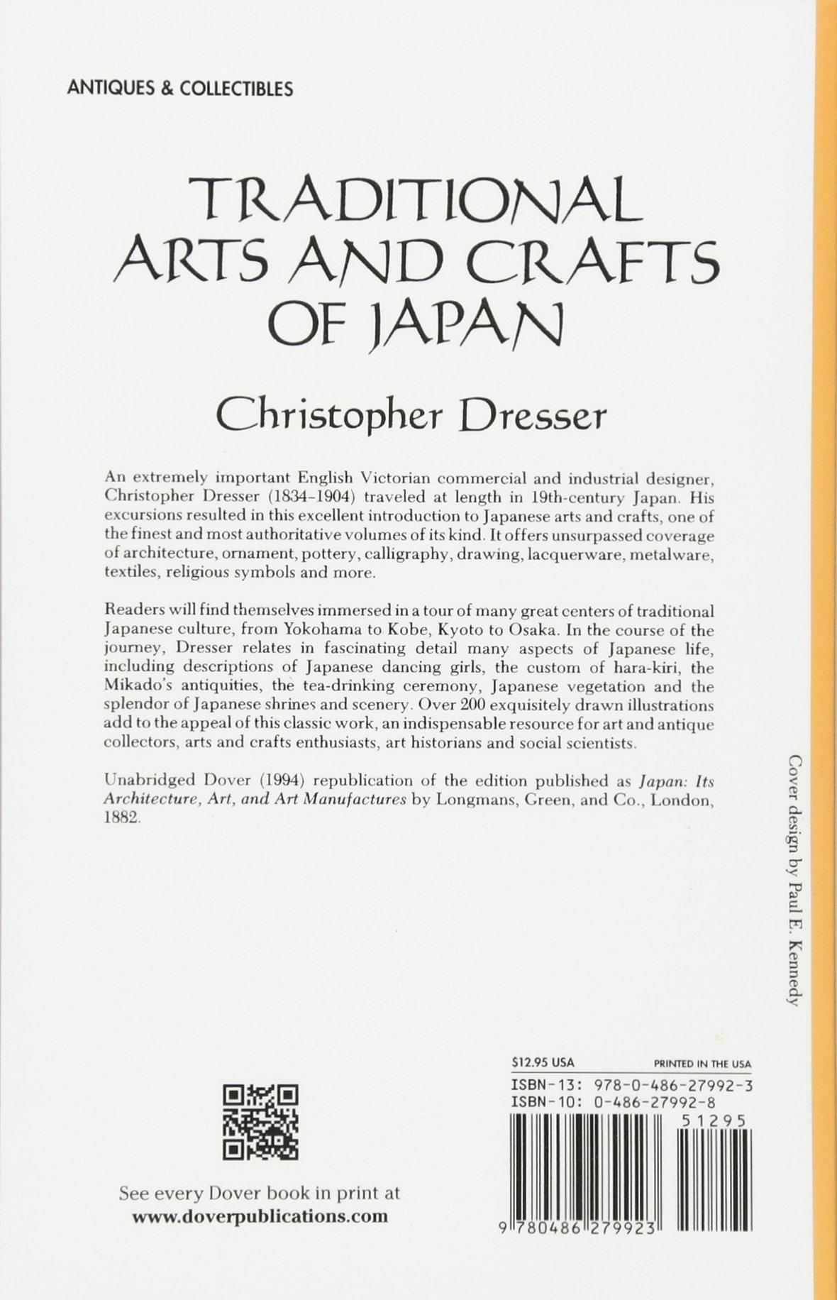 Traditional arts and crafts of japan christopher dresser traditional arts and crafts of japan christopher dresser 9780486279923 amazon books biocorpaavc Images