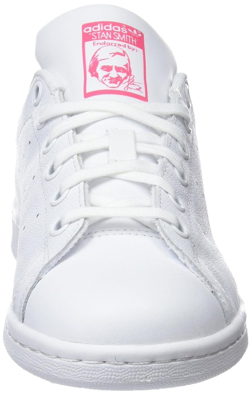 pretty nice a3d16 1ea5d Amazon.com   adidas Unisex Kids  Stan Smith J Gymnastics Shoes   Fashion  Sneakers