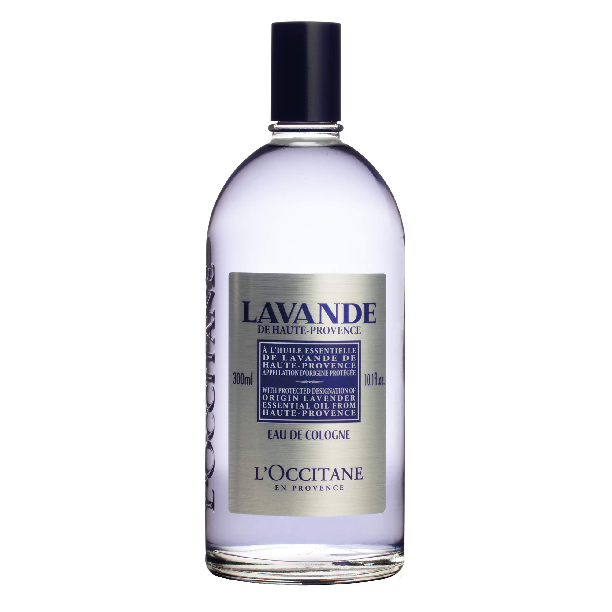 L'Occitane Lavender Eau de Cologne Enriched with Lavender Essential Oil, 10.1 fl. oz
