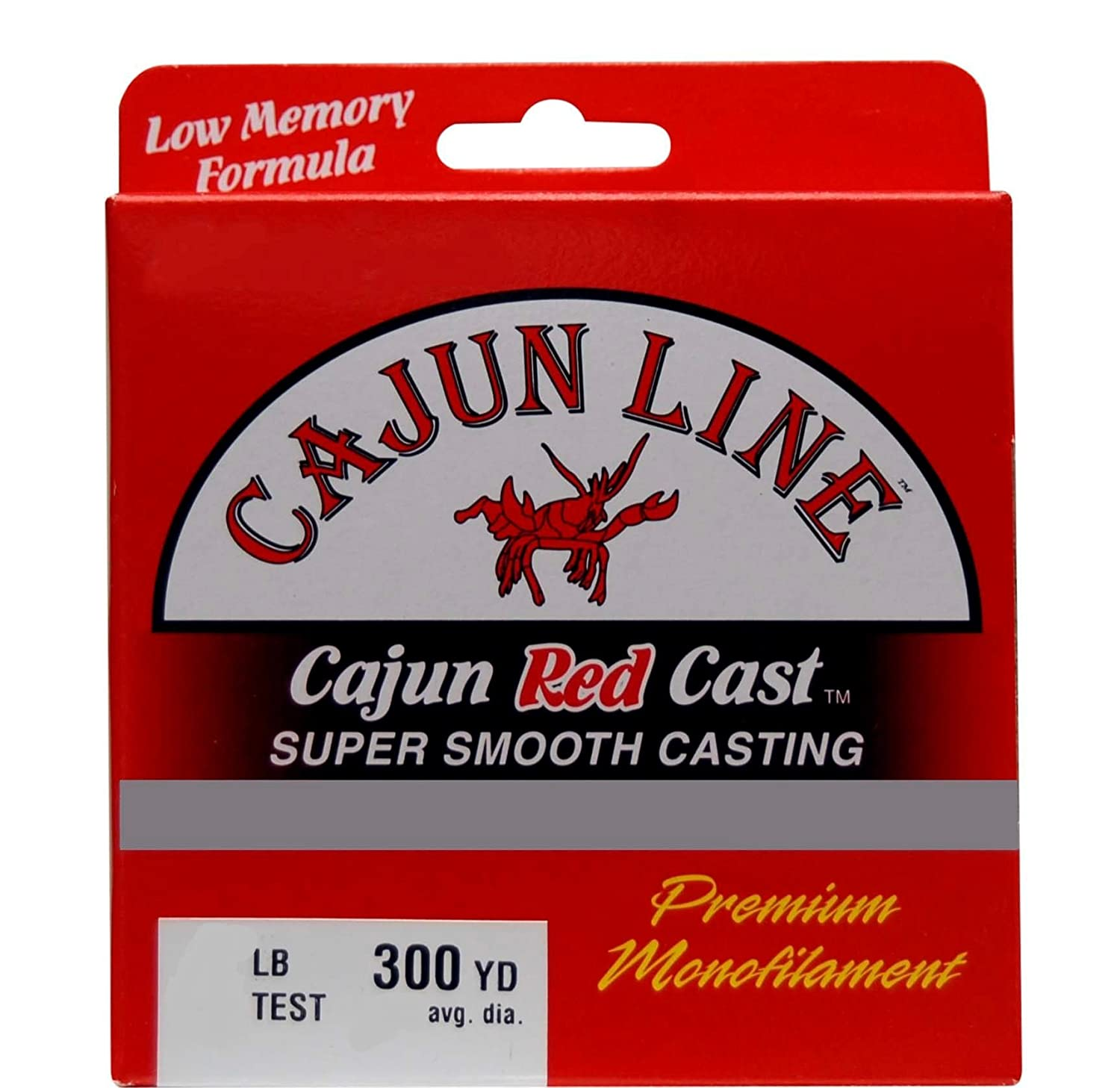 Amazon.com : Cajun Cast Fishing Line : Monofilament Fishing Line ...