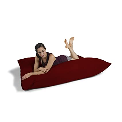 Amazon.com: Jaxx Pillow Saxx 5.5-Foot - Huge Bean Bag Floor Pillow ...