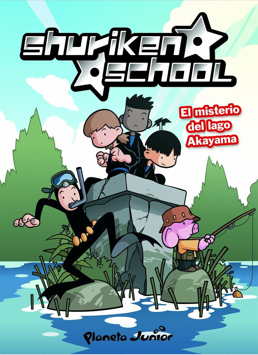 El misterio del lago Akayama: Shuriken School 2: Amazon.es ...