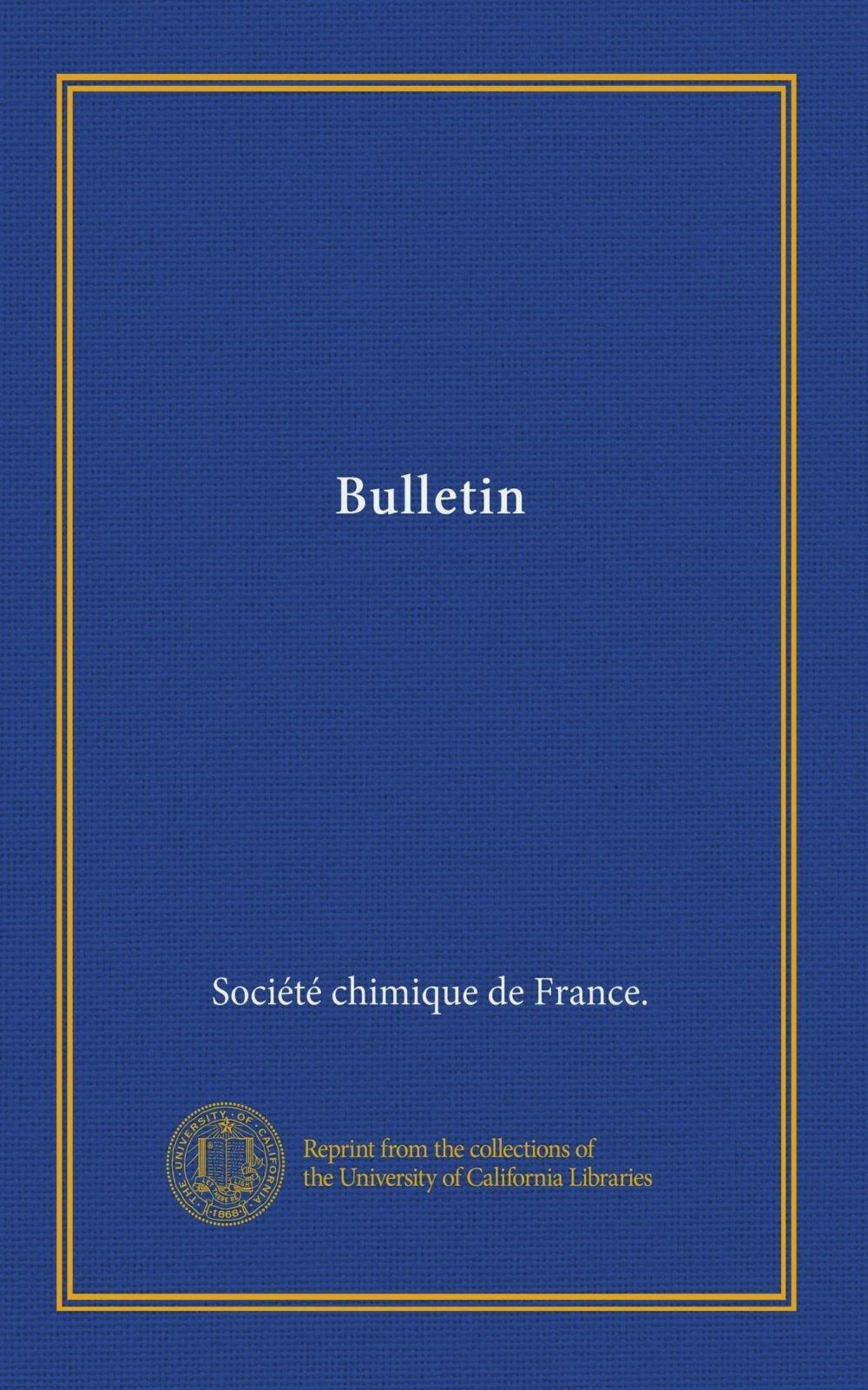 Read Online Bulletin (Ser.2 v.17 (1872)) (French Edition) ebook