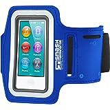Smash Terminator ® Apple iPod Nano Touch/Nano 7, maßgefertigt, reflektierend, für Sport/Joggen/Laufen) Gym Sport Armband Größe mit Doppelarm-Fächer und Schlüsselfach