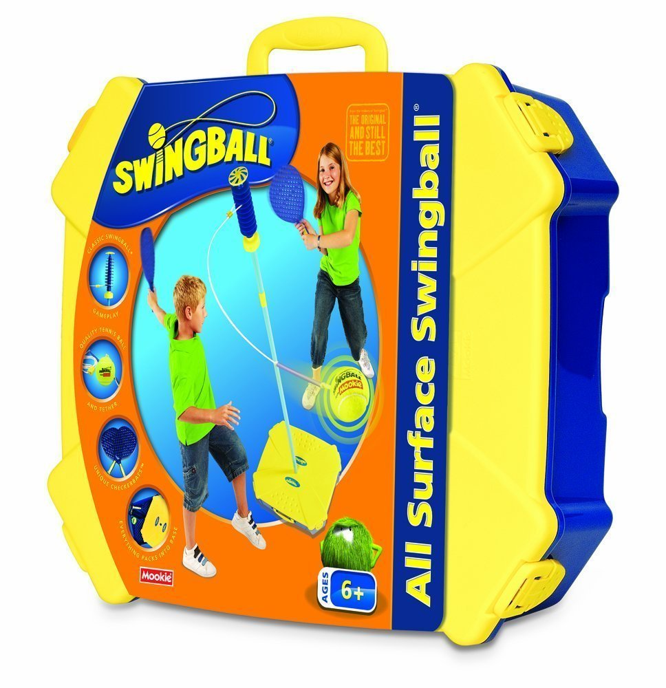 All Surface Swingball with Tether - Portable Tetherball Set by Squirrel Products (Image #3)