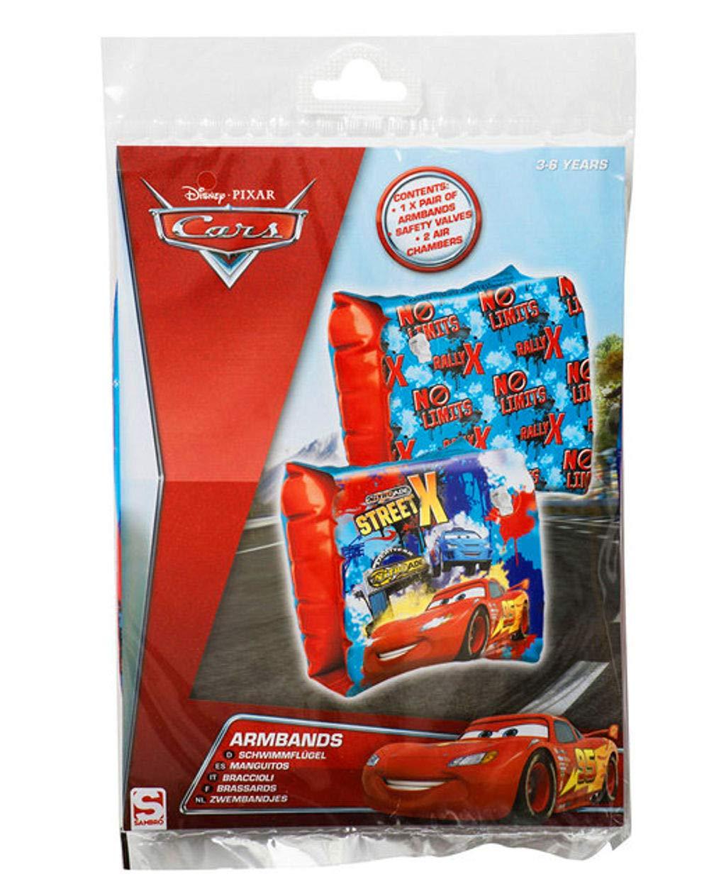 TV de 24 Disney Cars Manguitos Flotador Infantil 3 - 6 años (18 kg de 30 kg), Color Azul: Amazon.es: Deportes y aire libre
