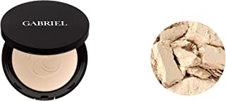 product image for Gabriel cosmetics,Dual Powder Foundation, Natural, Paraben Free, Vegan, Gluten-free, Cruelty-free, Non GMO, Pressed mineral powder, enhanced with Sea Fennel. (Extra Light Beige)
