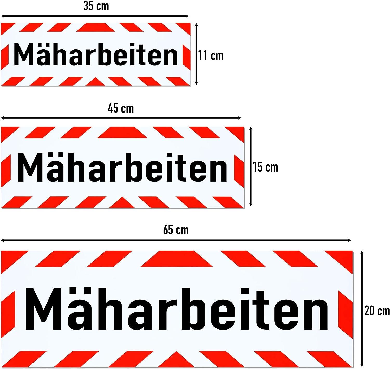 LOHOFOL Magnetschild M/äharbeiten Schild magnetisch mehrere Gr/ö/ßen lieferbar 65 x 20 cm