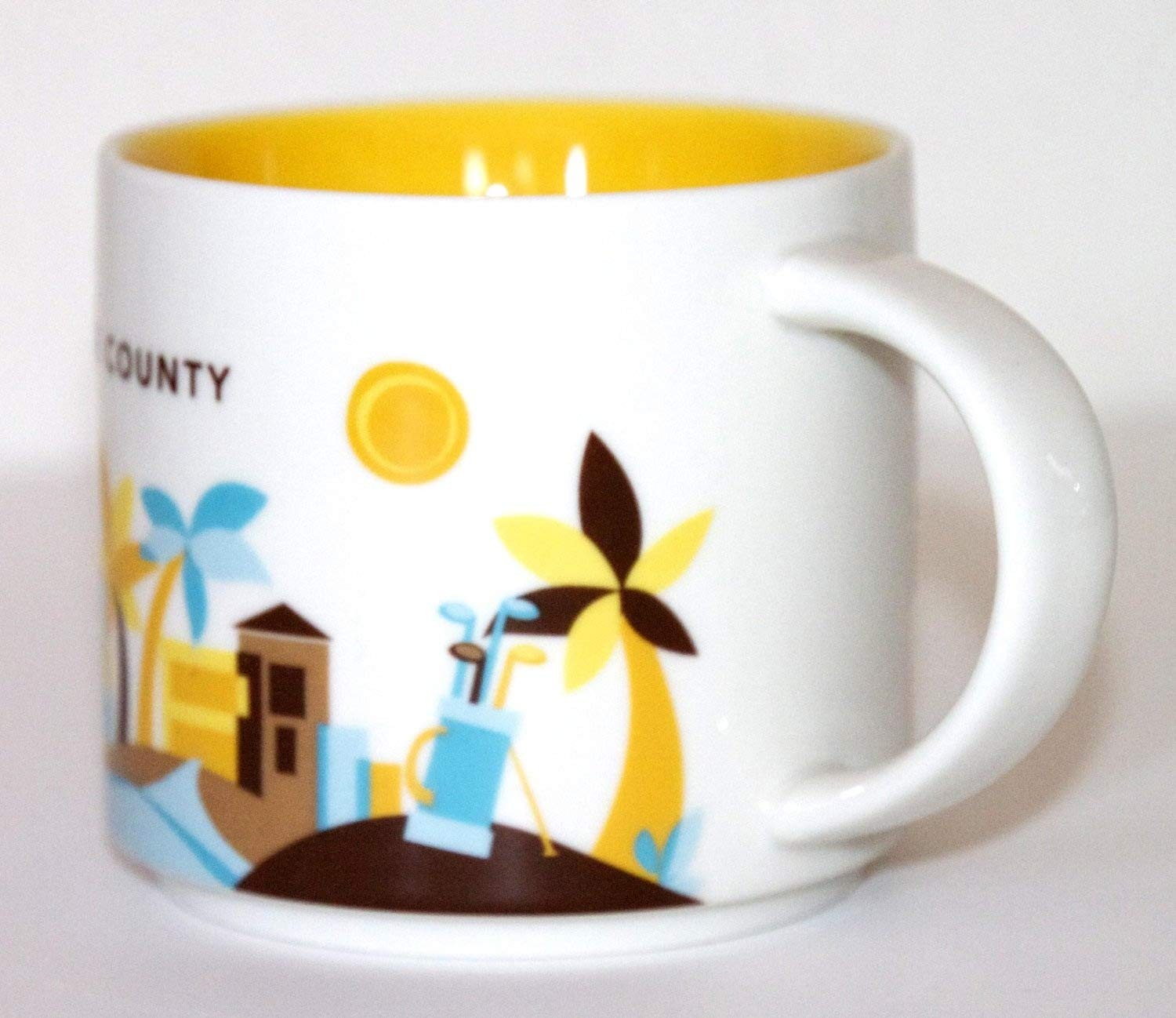 Starbucks New 2013 You Are Here Collection Orange County 14 Oz